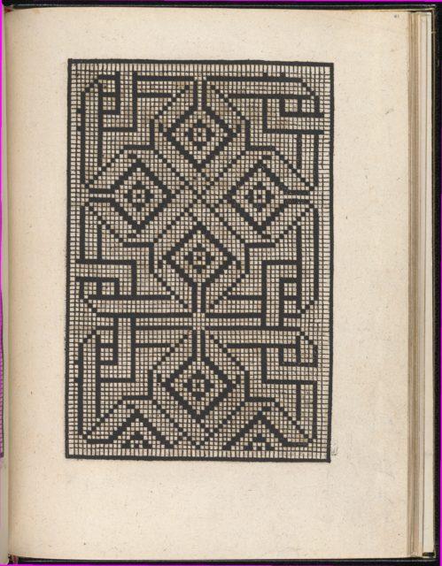 Page from Ein new kunstlich Modelbuch...(Page 41r)