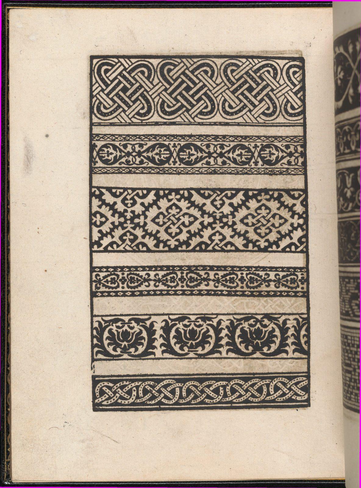 Page from Ein new kunstlich Modelbuch...(Page 48v)