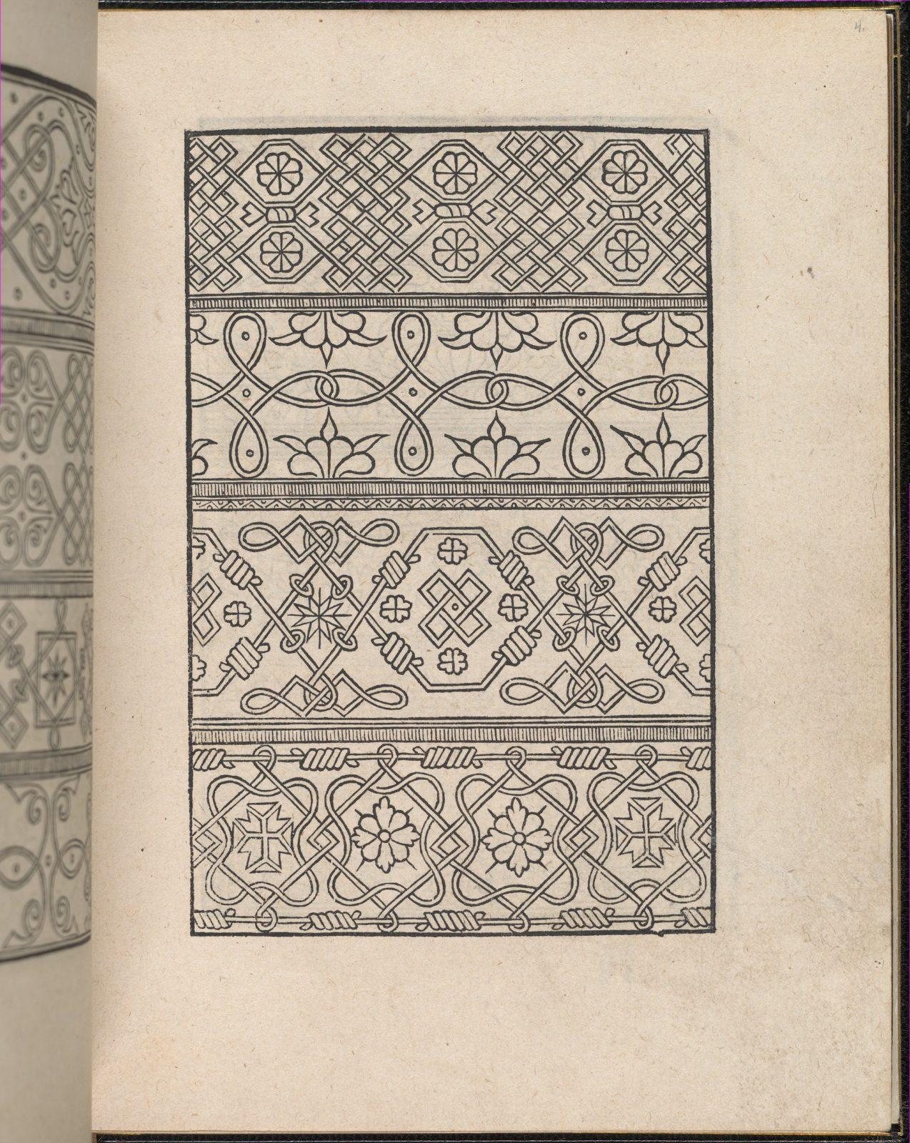Page from Ein new kunstlich Modelbuch...(Page 4r)