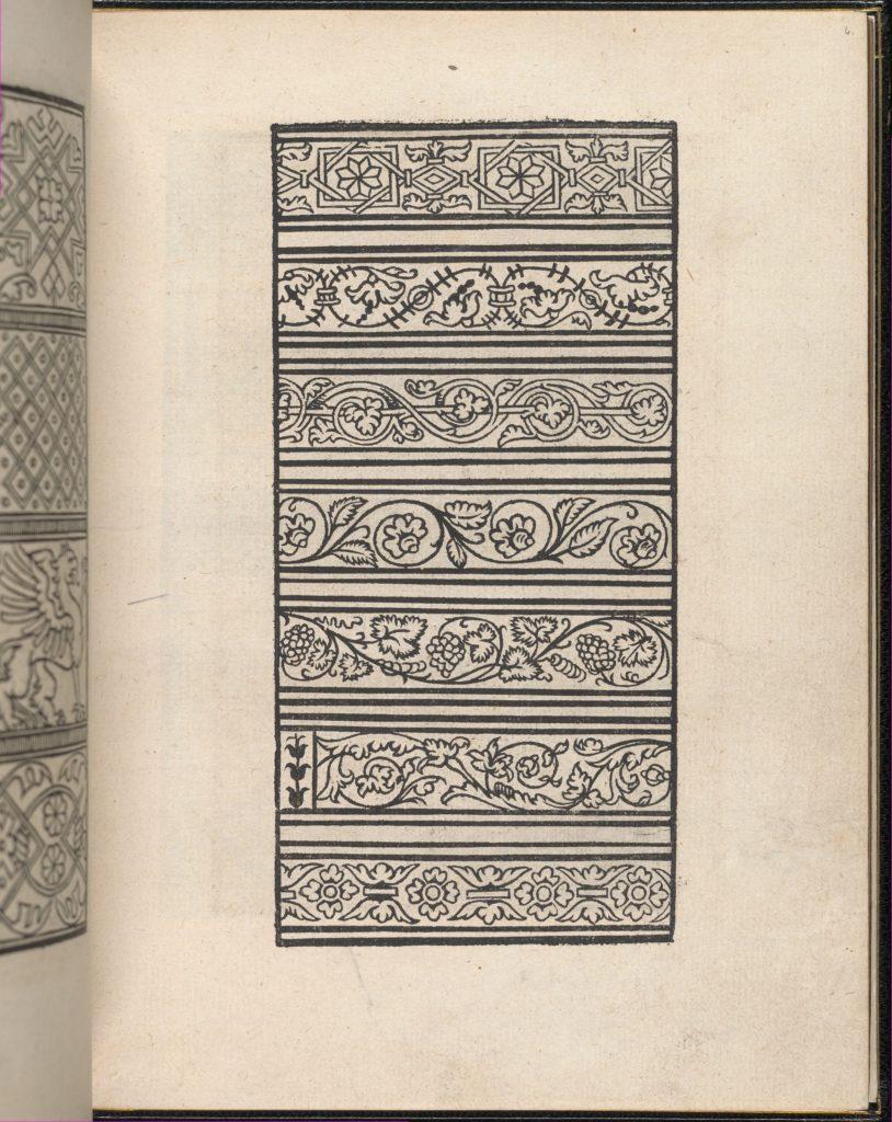 Page from Ein new kunstlich Modelbuch...(Page 6r)