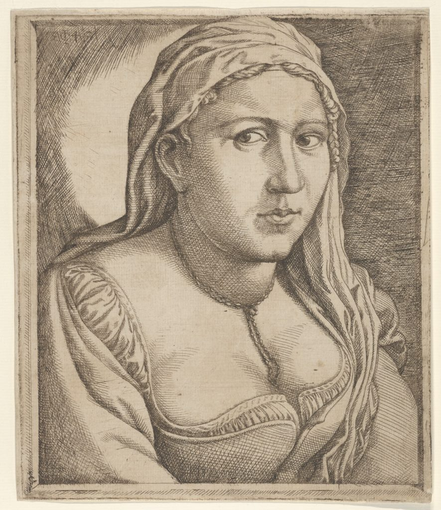 Woman with a Veil