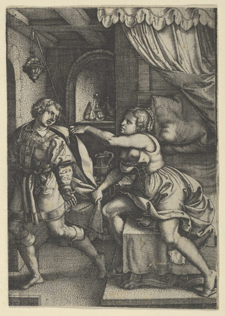 Joseph and Potiphar's Wife, from The Story of Joseph