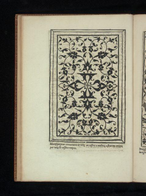 Livre de Moresques, page 12 (verso)