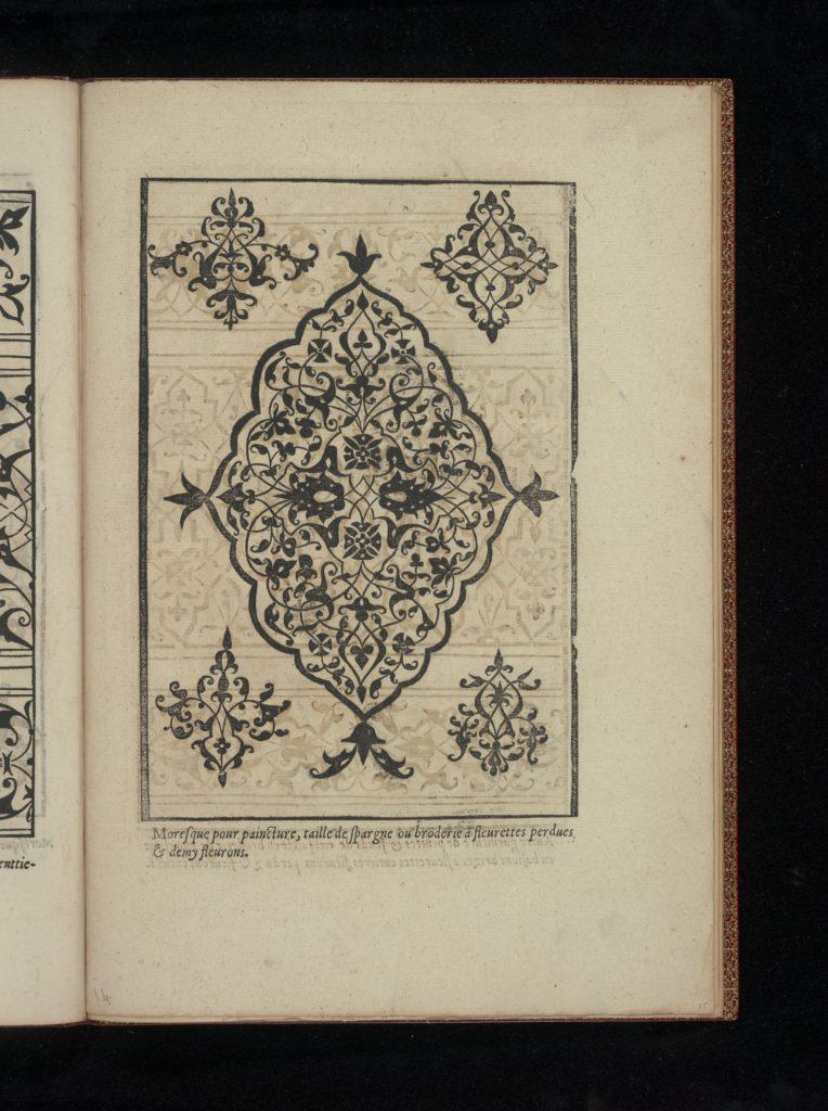 Livre de Moresques, page 15 (recto)
