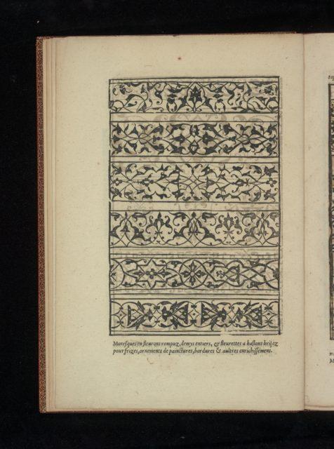 Livre de Moresques, page 2 (recto)