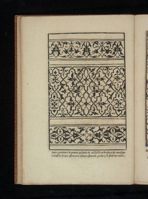 Livre de Moresques, page 8 (verso)