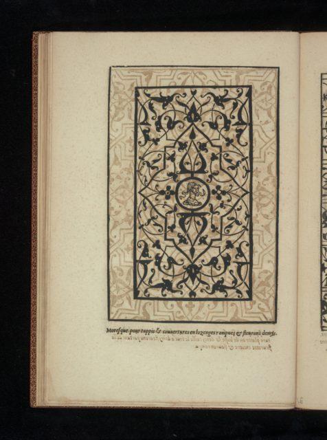 Livre de Moresques, page 9 (recto)