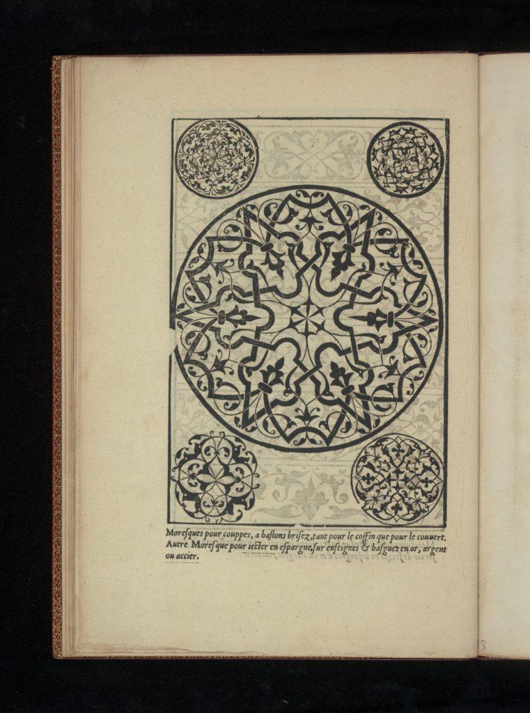 Livre de Moresques, page 9 (verso)