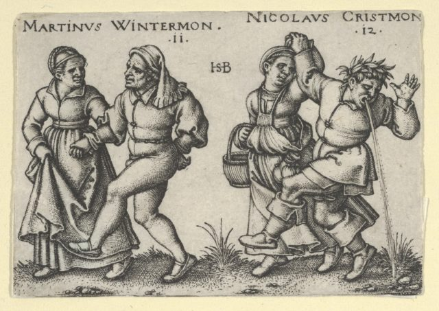 November and December from The Peasants' Feast or the Twelve Months