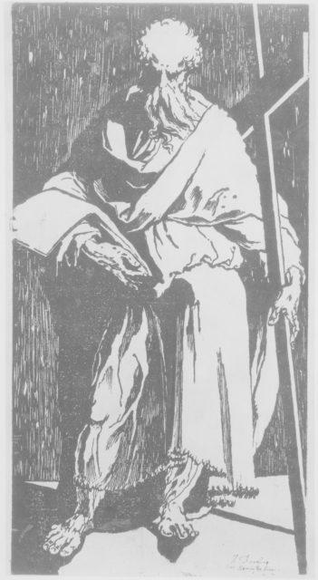 Apostle (Saint Philip or Andrew?)