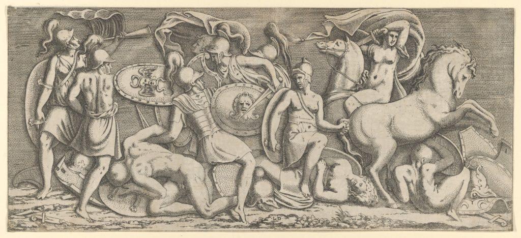 Battle of Amazons