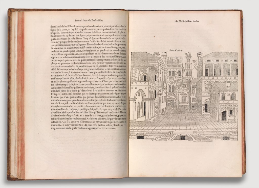 Compendium of Architectural Books by Sebastiano Serlio (Books I-V)