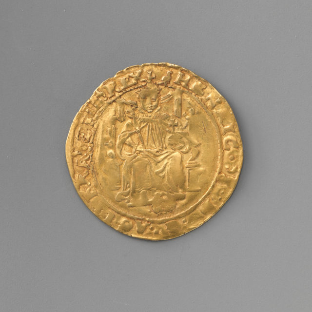 Half sovereign of Henry VIII