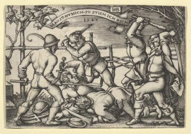 Peasants' Brawl from The Peasants' Feast or the Twelve Months