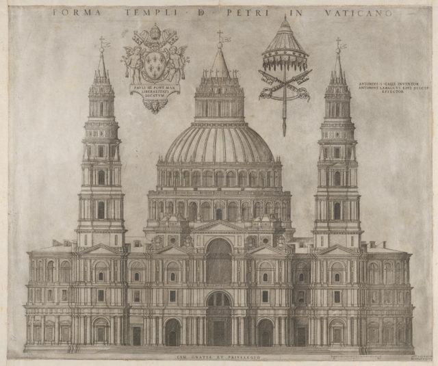 Speculum Romanae Magnificentiae: St. Peter's