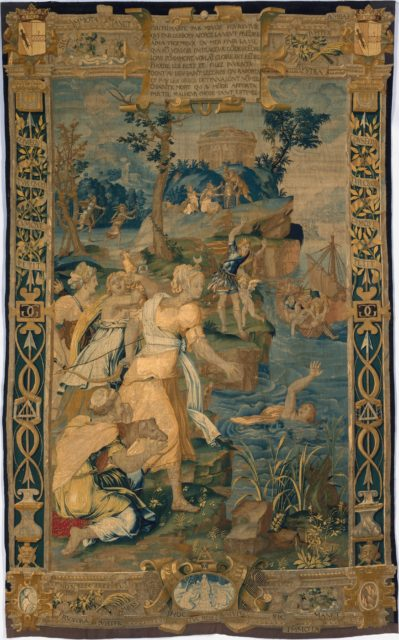 The Drowning of Britomartis from Scenes from the Story of Diana