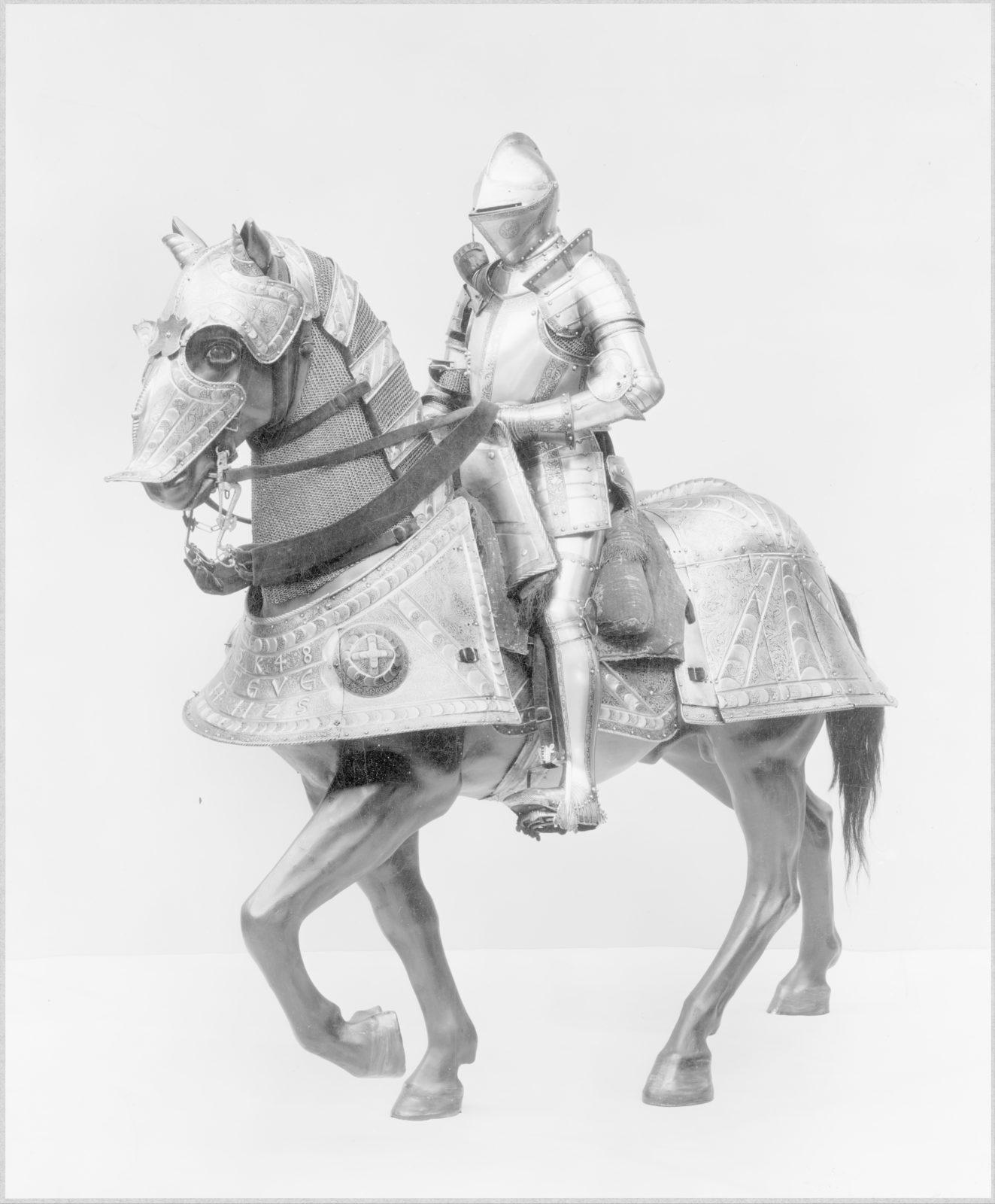 Horse Armor Made for Johann Ernst, Duke of Saxony-Coburg (1521–1553)