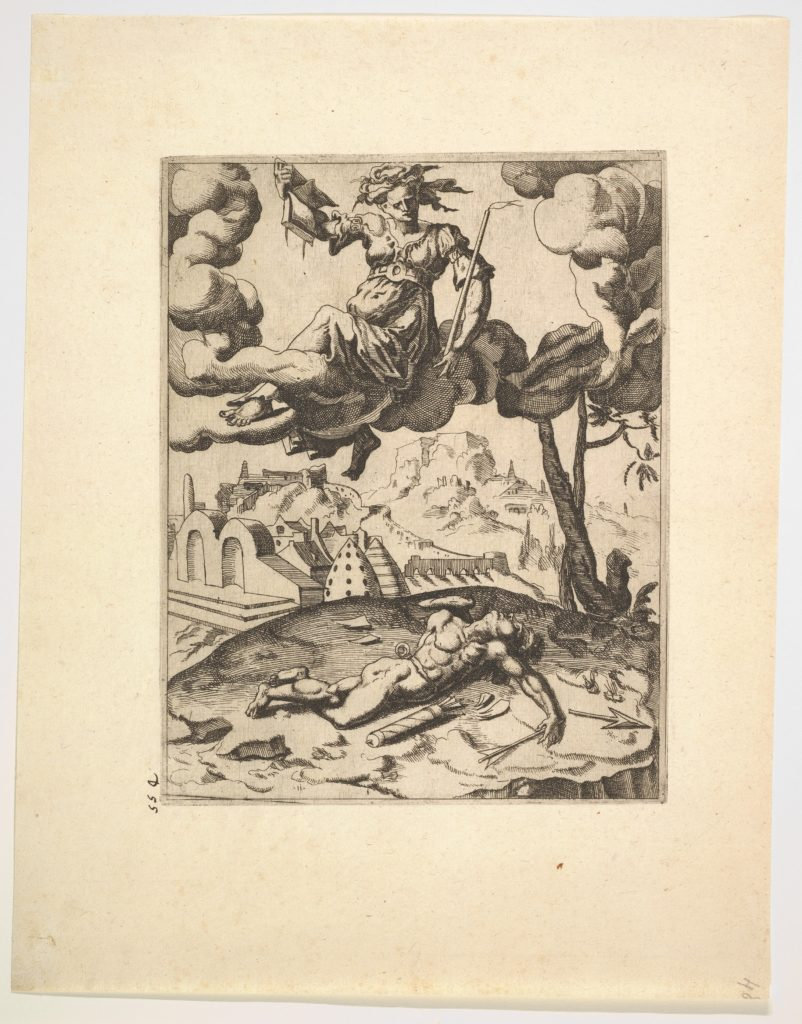 The Triumph of Chastity from The Triumphs of Petrarch