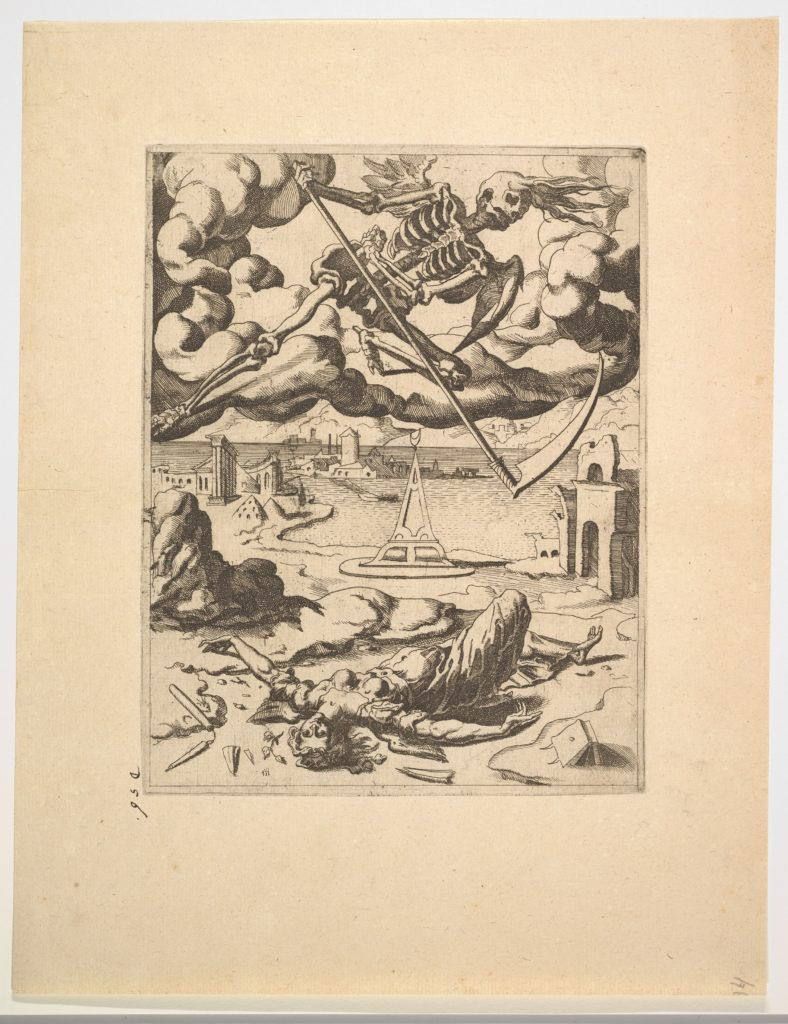 The Triumph of Death from The Triumphs of Petrarch