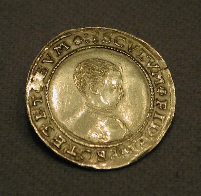 Half sovereign of Edward VI