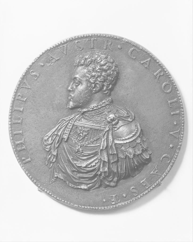 The Infante Philip of Spain, later Philip II of Spain (1527–98, r. 1556)