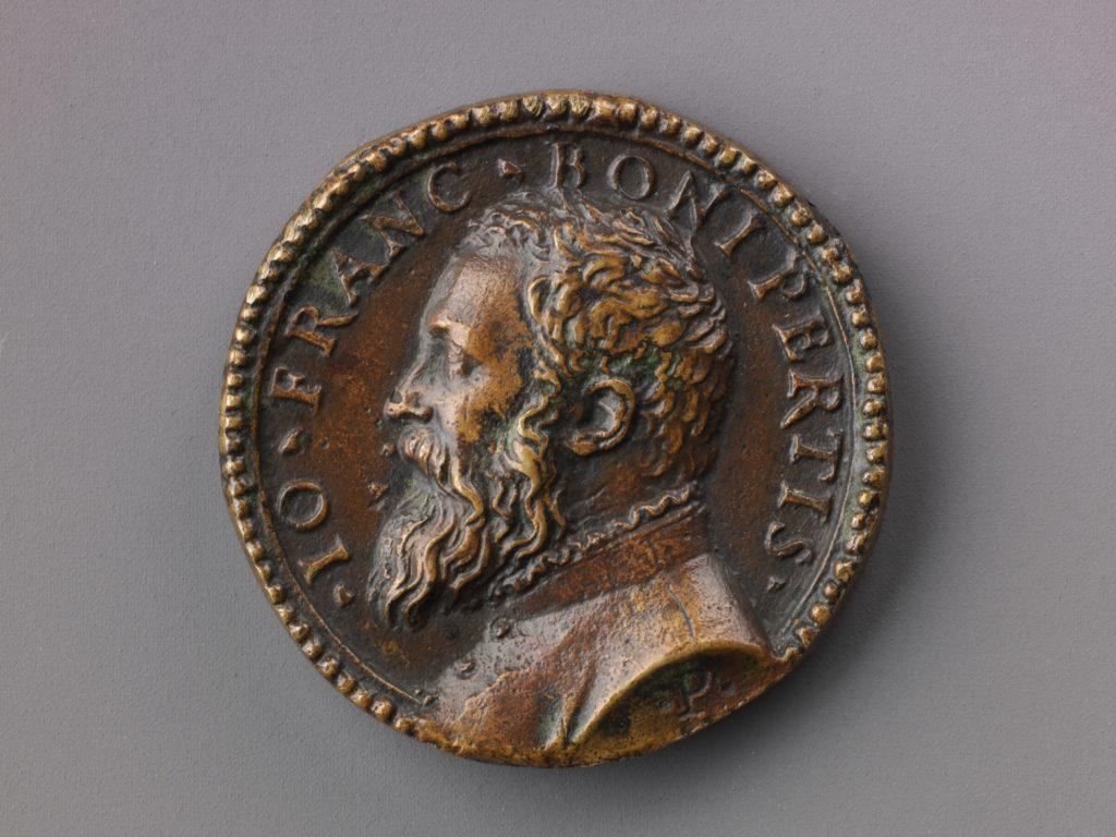 Medal:  Bust of Gianfrancesco Boniperti