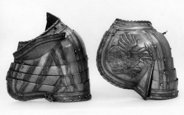 Pair of Pauldrons (Shoulder Defenses)