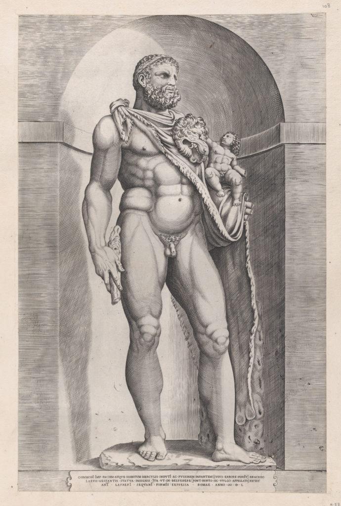 Speculum Romanae Magnificentiae: Emperor Commodus as Hercules