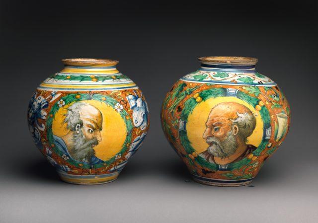 Storage jar (one of a pair)