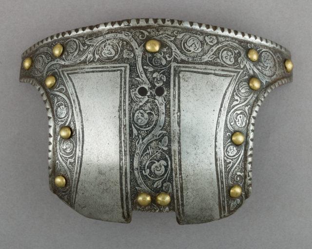 Top Half of a Shaffron (Horse's Head Defense)