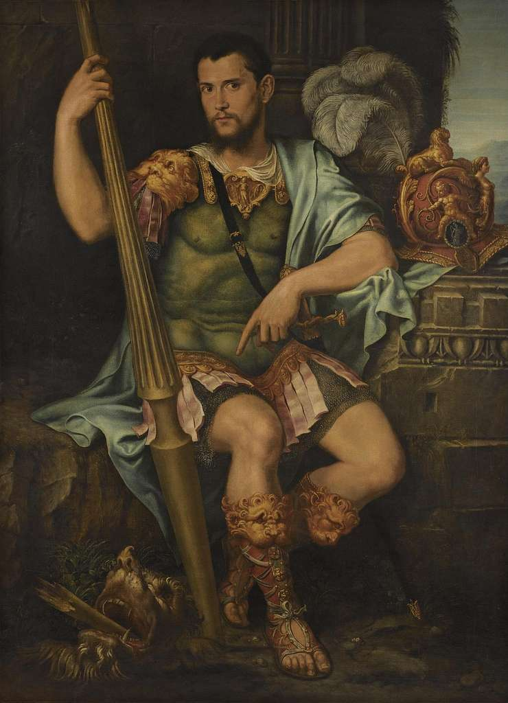 Portrait of a nobleman as Saint George