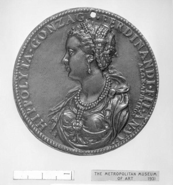 Ippolita di Ferdinando Gonzaga (1535–1563) at the age of 16