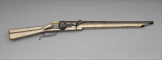 Wheellock Gun of Philippe de Croy, Prince of Chimay (1526–1595)