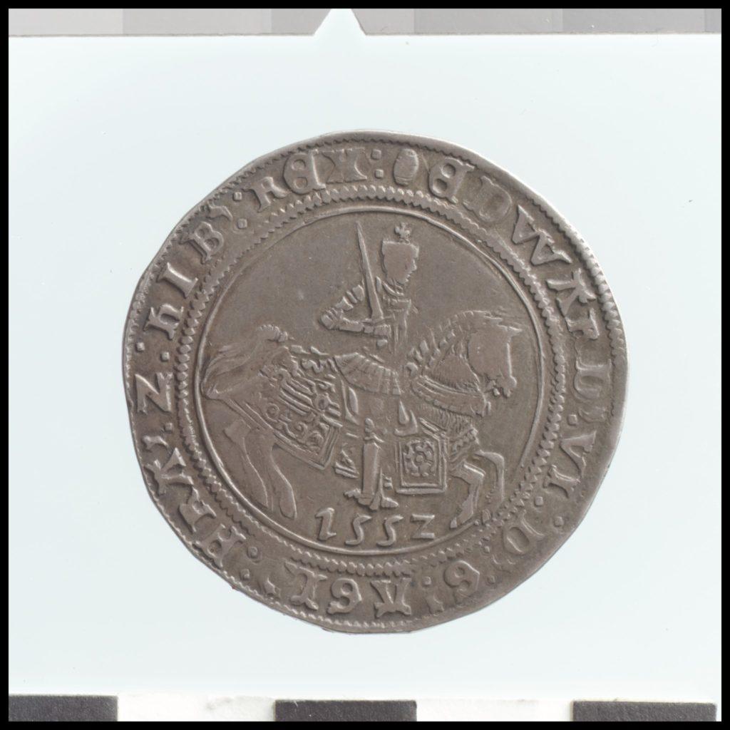 Half crown of Edward VI (r. 1547–53)