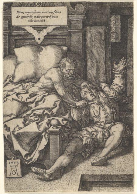 Judge Herkinbald Cutting the Throat of his Nephew