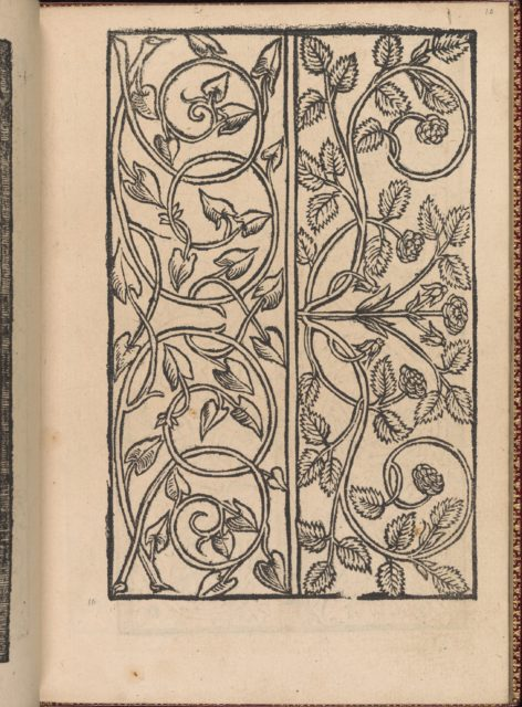 Modelbuch new, aller Art, Nehens und Stickens (page 10r)