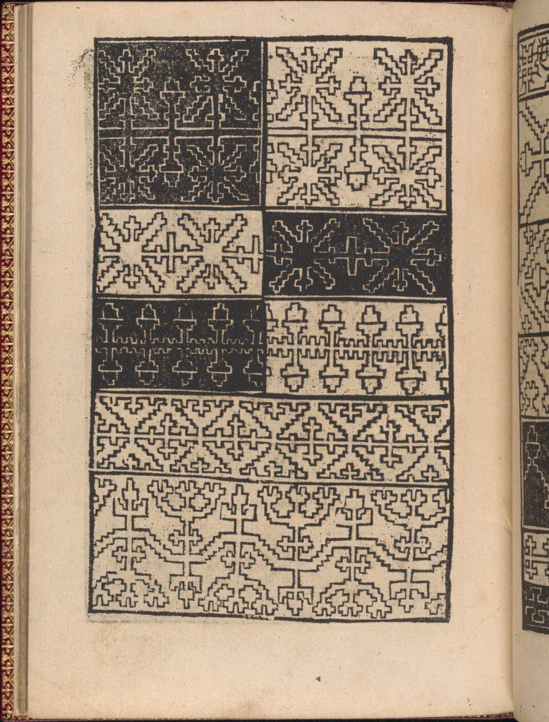 Modelbuch new, aller Art, Nehens und Stickens (page 24v)