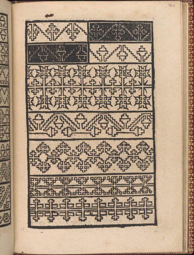 Modelbuch new, aller Art, Nehens und Stickens (page 26r)