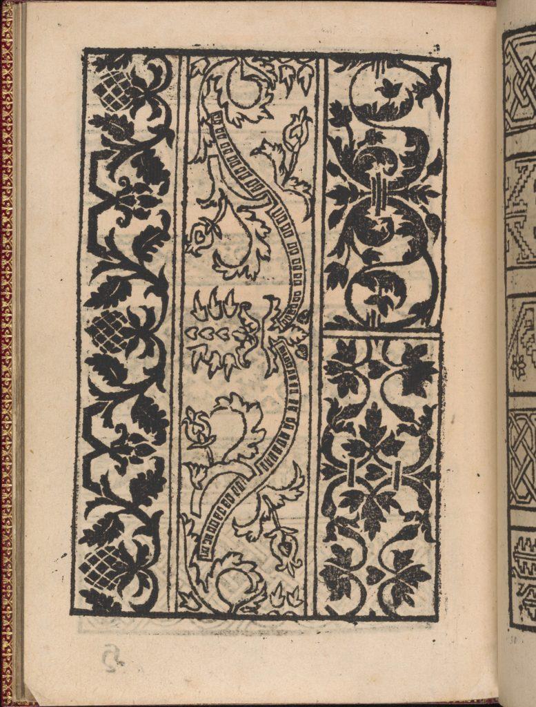 Modelbuch new, aller Art, Nehens und Stickens (page 27v)