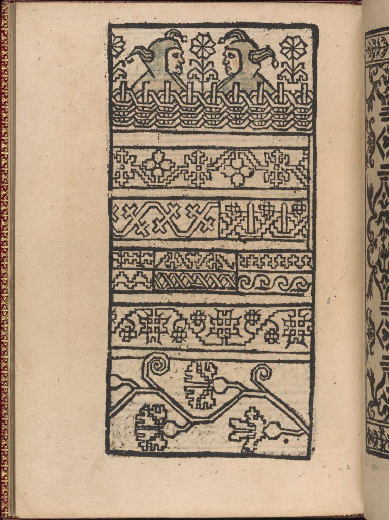 Modelbuch new, aller Art, Nehens und Stickens (page 29v)