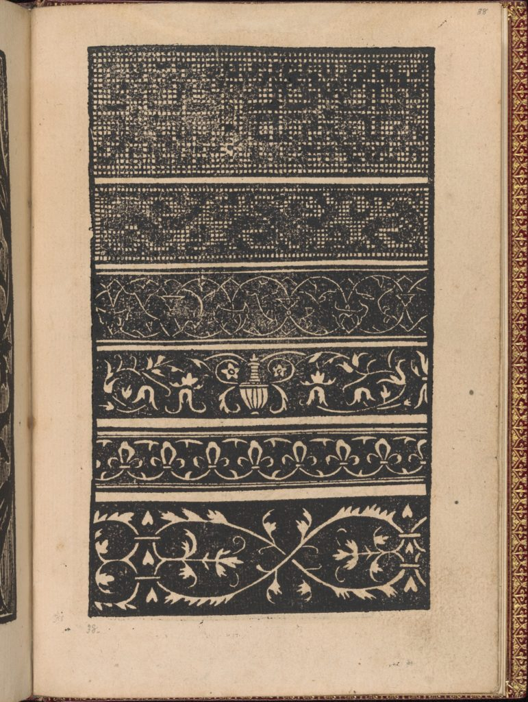 Modelbuch new, aller Art, Nehens und Stickens (page 36r)