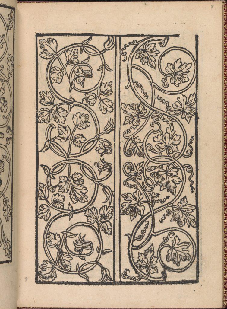 Modelbuch new, aller Art, Nehens und Stickens (page 8r)