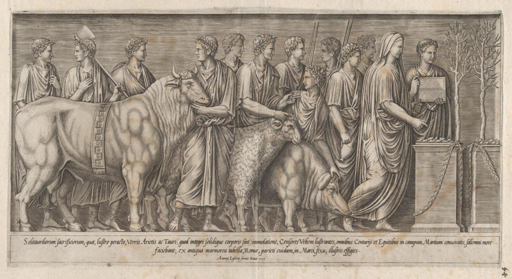 Speculum Romanae Magnificentiae: Sacrifice on the Campus Martius
