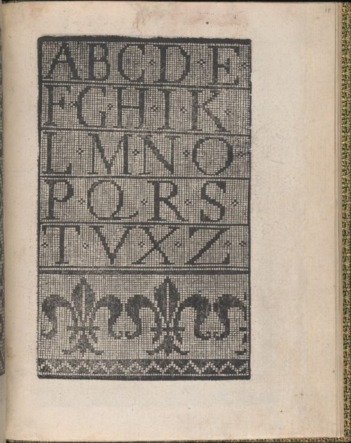 Ornamento delle belle & virtuose donne, page 10 (recto)