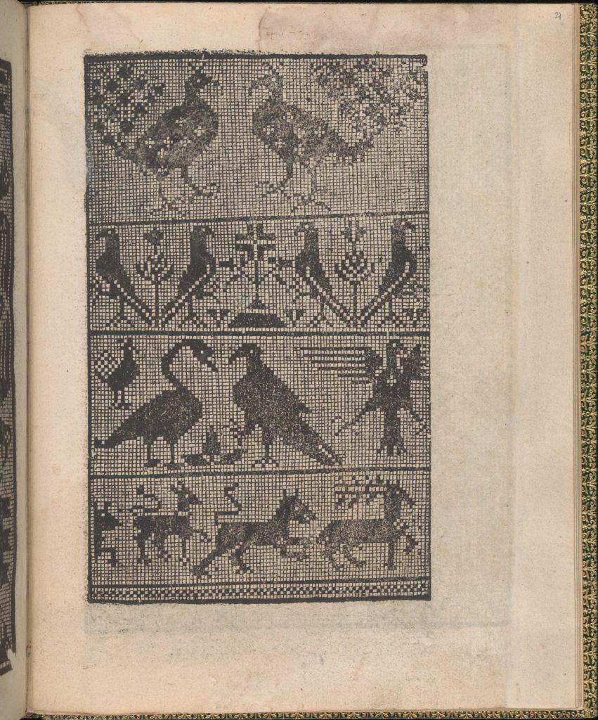Ornamento delle belle & virtuose donne, page 11 (verso)
