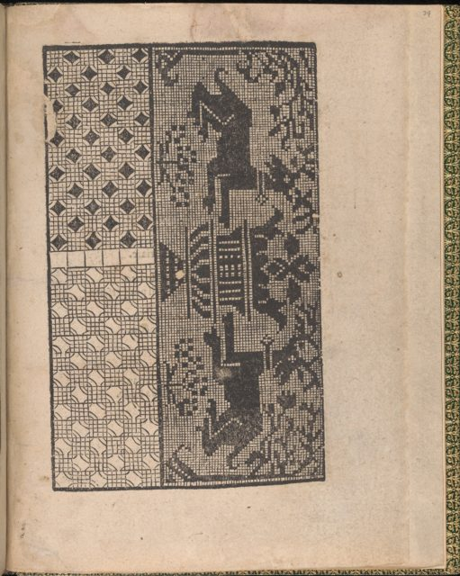 Ornamento delle belle & virtuose donne, page 24 (recto)
