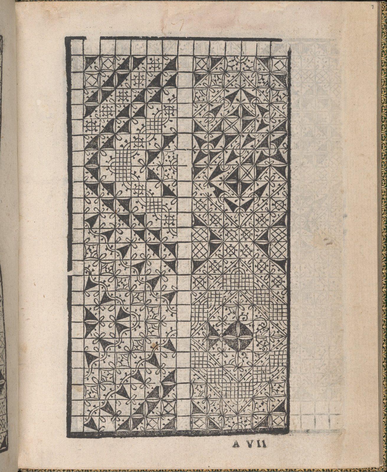 Ornamento delle belle & virtuose donne, page 4 (verso)