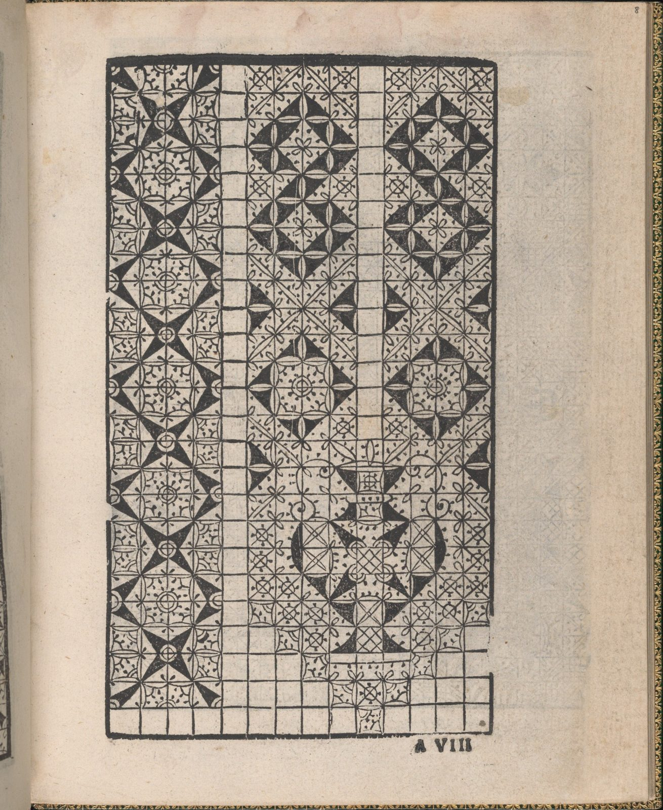Ornamento delle belle & virtuose donne, page 5 (recto)