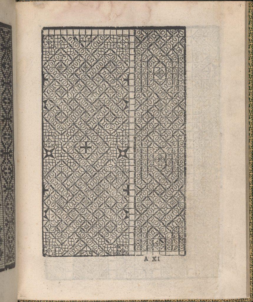 Ornamento delle belle & virtuose donne, page 6 (verso)