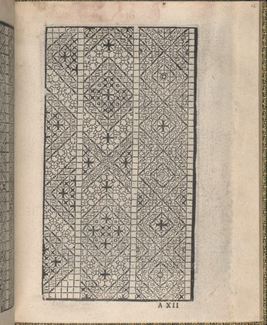 Ornamento delle belle & virtuose donne, page 7 (recto)